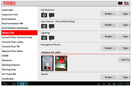 create easy single or multi photo reports on mobile device